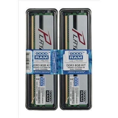 GOODRAM DDR3 PLAY 4GB PC1600 SILVER CL9 512x8
