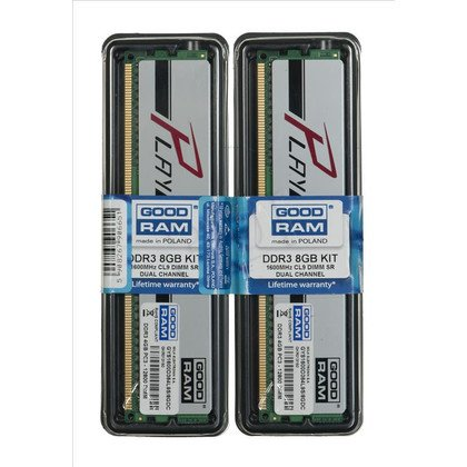 GOODRAM DDR3 PLAY 4GB PC1600 SILVER CL9 512x8