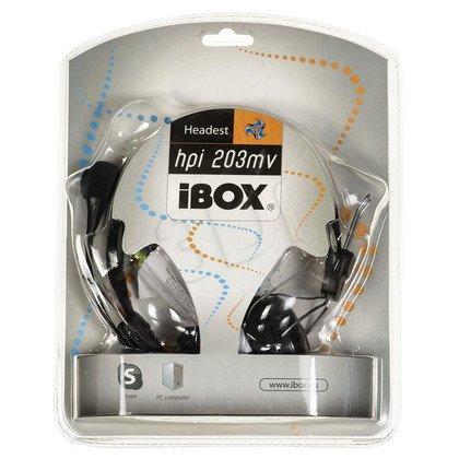 SłUCHAWKI I-BOX HPI 203MV /Czarne
