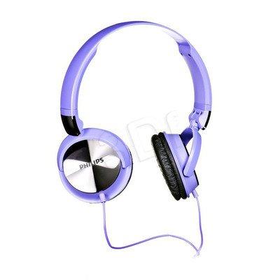 Słuchawki wokółuszne Philips SHL3160PP/00 (Fioletowo-czarny)