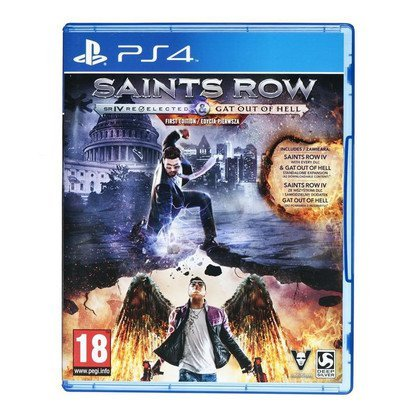 Gra PS4 Saints Row IV Gat Out of Hell Ed. First