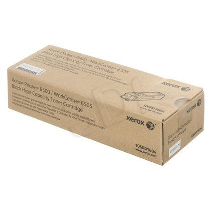 XEROX Toner Czarny 106R01604=Phaser 6500, WorkCentre WC6505, 3000 str.