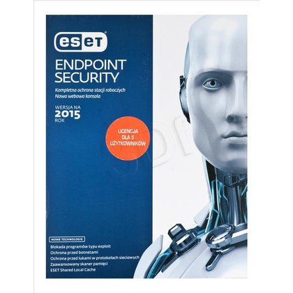 ESET Endpoint Security - 5 STAN/12M