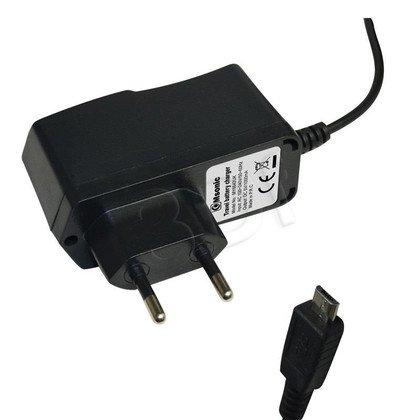 MSONIC ŁADOWARKA SIECIOWA MICRO USB, 1A, AC 100~240V MY6642UK CZARNA
