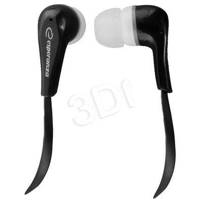 Słuchawki douszne Esperanza LOLLIPOP EH146K (Czarno-biały)