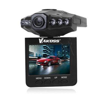 "VAKOSS REJESTRATOR TRASY HD, 2,4"" LCD, BATERIA LI-ION VC-605 CZARNY"