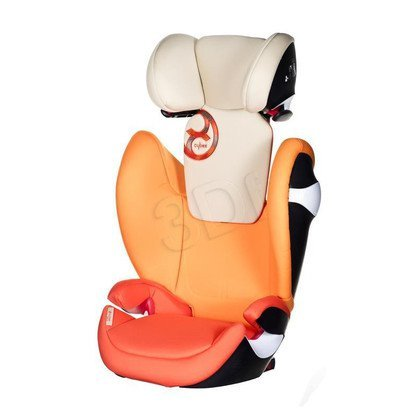 FOTELIK SAMOCHOD. CYBEX SOLUTION M-FIX AUTUMN GOLD