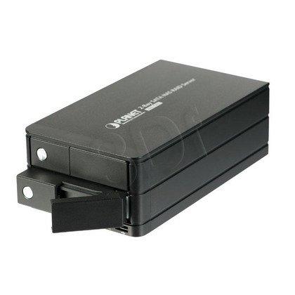 PLANET NAS-7202 Sieciowy Serwer Magazynujący
