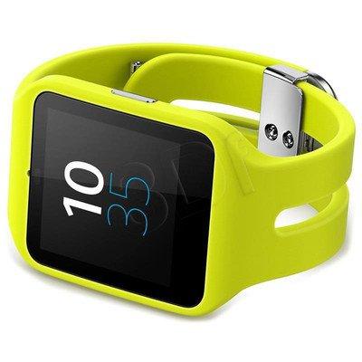 Smartwatch SONY MOBILE 3 SWR50 1287-4373 limonkowy