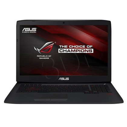 "ASUS G751JT-T7010 i7-4710HQ 8GB 17,3"" FHD 1000GB HD4600 GTX970M DOS Czarny 2Y"