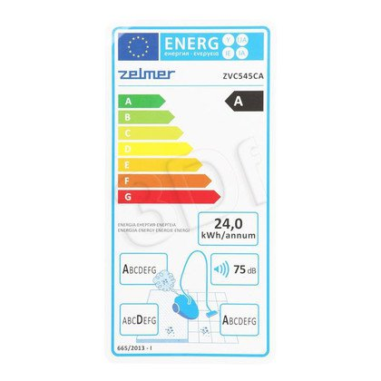 Odkurzacz Zelmer ZVC545CA (z workiem 700W fioletowy)