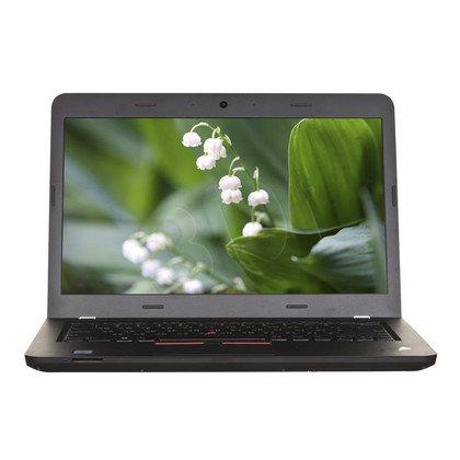 """LENOVO ThinkPad E460 i5-6200U 4GB 14"""" FHD 500GB HD 520 R7 M360 Win7P W10P Czarny 20EUA00GPB 1Y"""