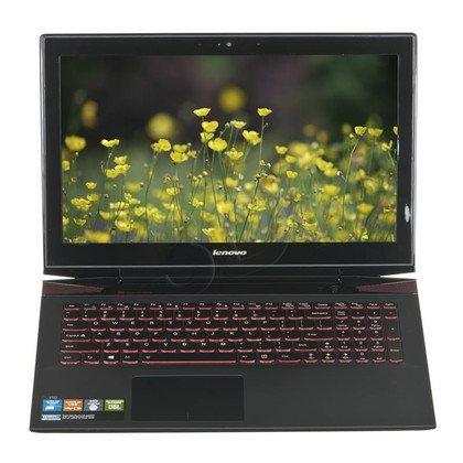 """LENOVO Y50-70 i7-4720HQ 8GB 15,6"""" UHD 512GB HD4600 GTX 960M DOS Czarny 59-445854 1Y"""
