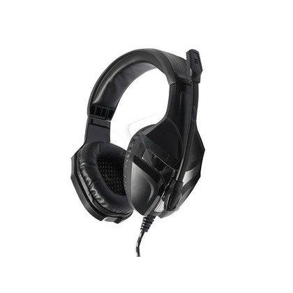 Słuchawki nauszne z mikrofonem Media tech MT3559 (Czarny)