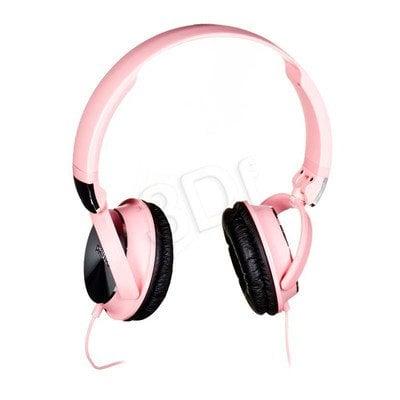 Słuchawki wokółuszne Philips SHL3160PK/00 (Różowo-srebrne)