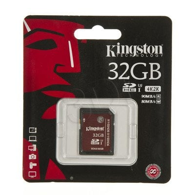 Kingston SDHC SDA3/32GB 32GB Class U3