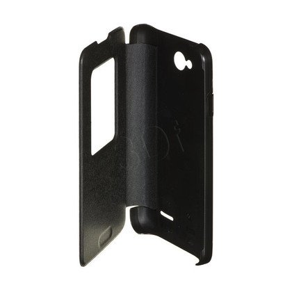 FUTERAŁ QUICK WINDOW COVER DO LG L65 CZARNY