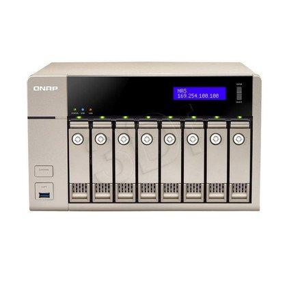 QNAP serwer NAS TVS-863-8G Tower