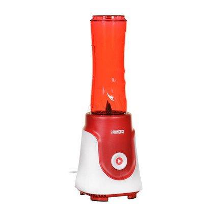 Blender stojący Princess 218000 (250W/biało-czerwony)