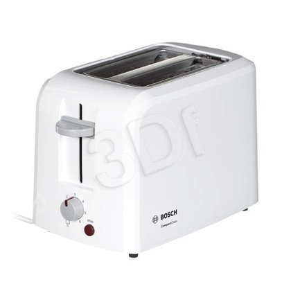 Toster BOSCH TAT 3A011 (980W/ biały)