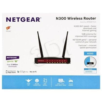 NETGEAR JWNR2010-100PES Router WiFi N300 4xLAN