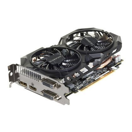 GIGABYTE AMD Radeon R7 370 2048MB DDR5/256bit DVI/HDMI/DP PCI-E (1015/5600) (wer. OC - OverClock) (wentylator WindForce II)