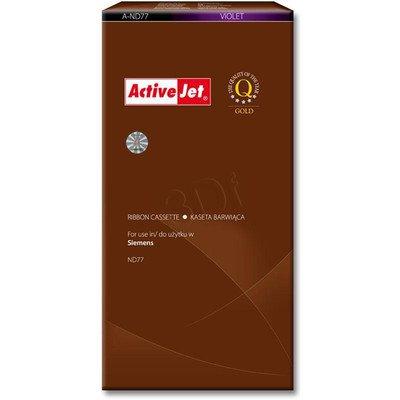 ActiveJet A-ND77 kaseta barwiąca kolor fioletowy do drukarki igłowej Siemens (zamiennik A-ND77)