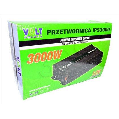 VOLT POLSKA PRZETWORNICA IPS 3000 12/230V USB