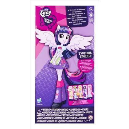 MLP MY LITTLE PONY EQUESTRIA GIRLS LALKA PODSTAWOWA HIGH SCHOOL HASBRO A9224 A9255 TWILIGHT SPARKLE