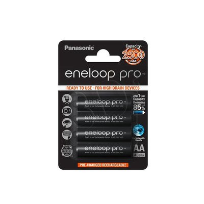 PANASONIC ENELOOP PRO R6/AA 2500MAH – 4 SZT BLISTER