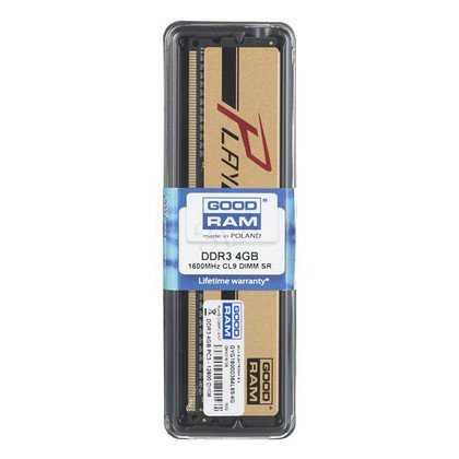 Goodram PLAY DDR3 DIMM 4GB 1600MT/s (1x4GB)