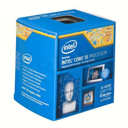 PROCESOR CORE I5 4590 3.3GHz LGA1150 BOX