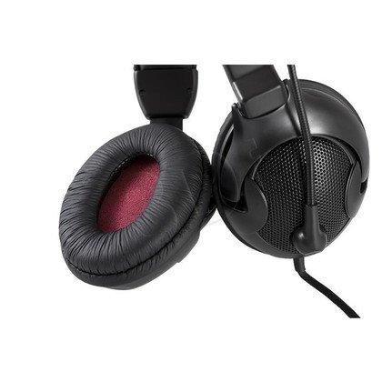 Słuchawki nauszne z mikrofonem LOGIC LH-40 (Czarny)