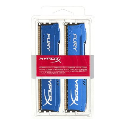 KINGSTON HyperX FURY DDR3 2x4GB 1600MHz HX316C10FK2/8