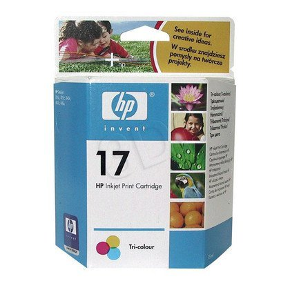 HP Tusz Kolor HP17=C6625A, 430 str., 15 ml