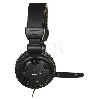 Słuchawki wokółuszne z mikrofonem LENOVO P950N (Czarny)