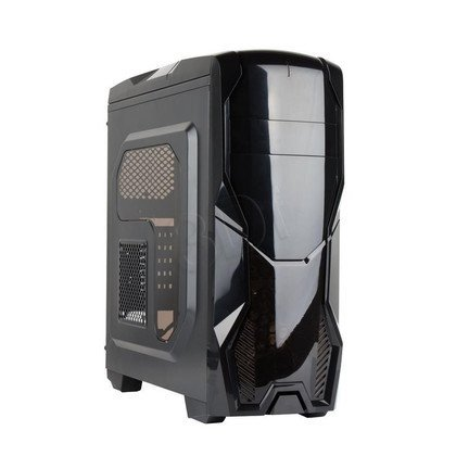 GEMBIRD OBUDOWA ATX GAMING MIDI TOWER LUNA BLACK USB 3.0 +2.0 + CZYTNIK CARD