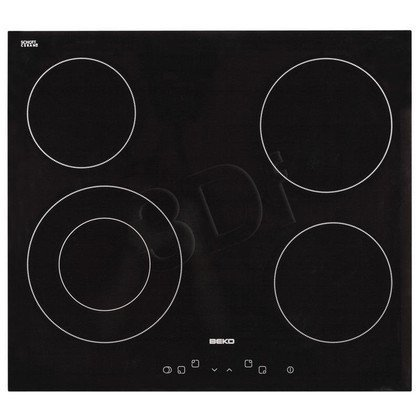 Płyta ceramiczna BEKO HIC 64401 (elektryczna/ czarna/ 6700W)