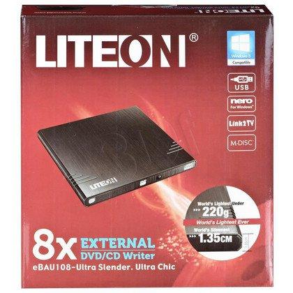 DVD-REC LITEON eBAU108 USB CZARNY