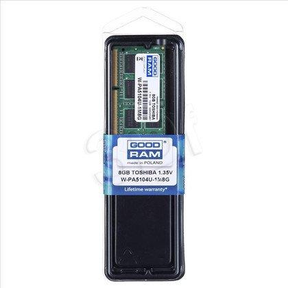 GOODRAM DED.NB W-PA5104U-1M8G 8GB 1600MHz DDR3 1,35V