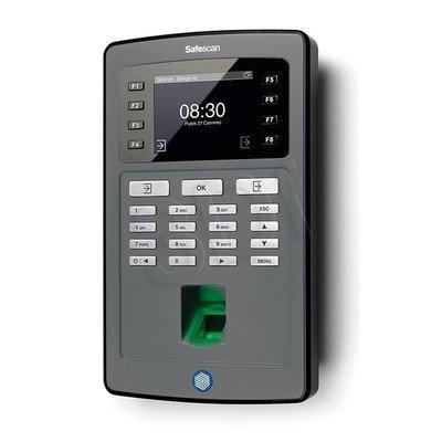 SAFESCAN SYSTEM REJESTRACJI CZASU PRACY TA-8020 CZUJNIK ODCISKÓW PALCÓW/KOD PIN/KONTROLA LAN/EKRAN TFT