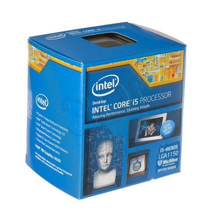 PROCESOR CORE I5 4690S 3.2GHz LGA1150 BOX