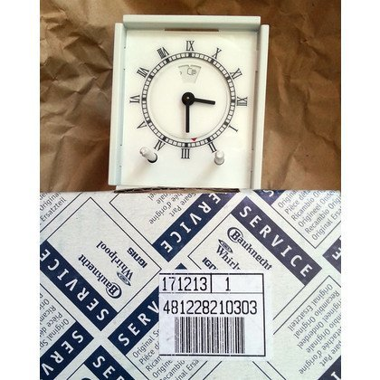 Zegar (minutnik) mechaniczny piekarnika Whirlpool (481228210303)