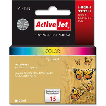 ActiveJet AL-15N tusz kolorowy do drukarki Lexmark (zamiennik Lexmark 15 18C2110E)