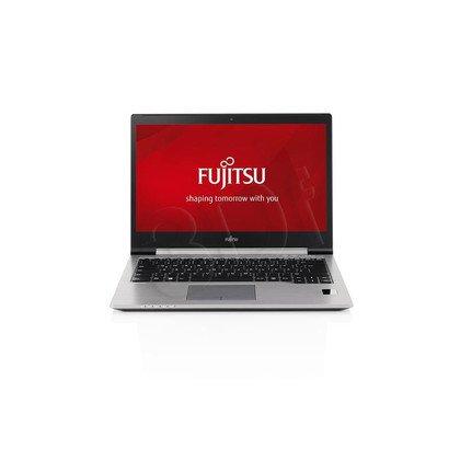 "Fujitsu LIFEBOOK U745 i5-5200U 4GB 14"" HD+ 500+8GB HD5500 UMTS Win7P W10P Srebrno-czarny 2 y"