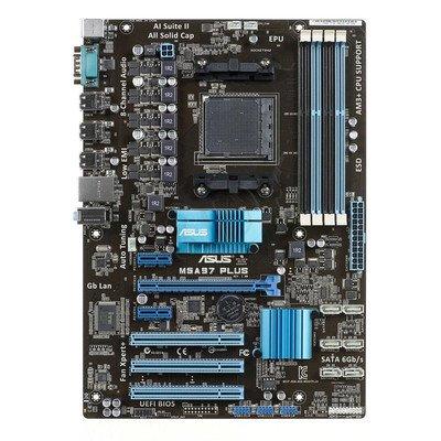 ASUS M5A97 PLUS A970 SAM3+ (PCX/DZW/GLAN/SATA3/USB2/RAID/DDR3/SLI/CROSSFIRE)
