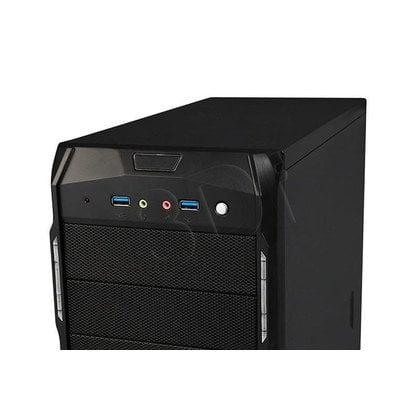 OBUDOWA I-BOX ERDE CB302 2XUSB3.0 HD AUD, BEZ ZAS.