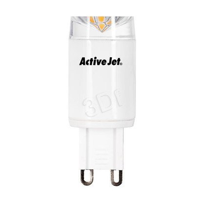 ActiveJet AJE-MC4G9 Lampa LED SMD 300lm 4W G9 barwa biała ciepła