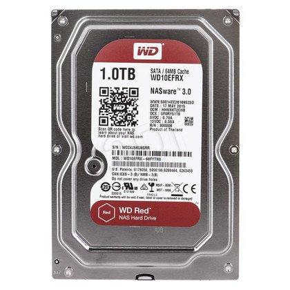 """Dysk HDD Western Digital RED NAS 3,5"""" 1TB SATA III 64MB WDBMMA0010HNC"""
