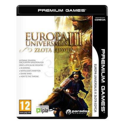 Gra PC NPG Europa Universalis III Złota Edycja